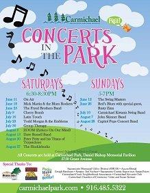 Carmichael Park Summer Concert Series @ Carmichael Park | Carmichael | California | United States