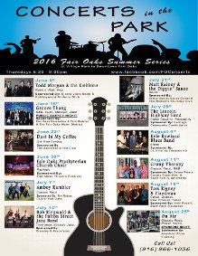 Fair Oaks Concerts In The Park @ Village Park | Fair Oaks | California | United States