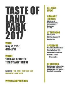 Taste of Land Park @ Land Park