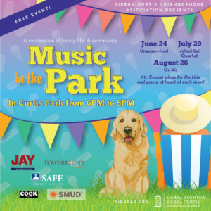 Music In The Park-Curtis Park @ Curtis Park | Sacramento | California | United States